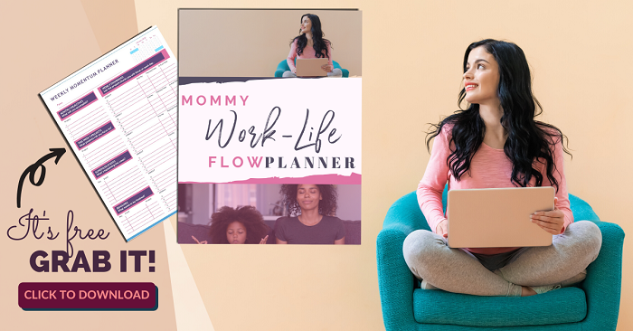 Grab this daily mom routine schedule to lead a more productive lifestyle as a busy mom!