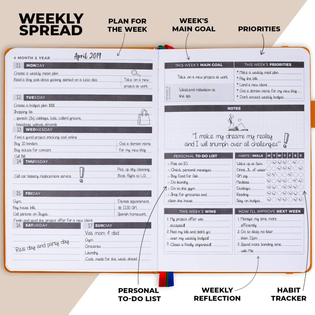 Clever Fox Planner for Working Moms
