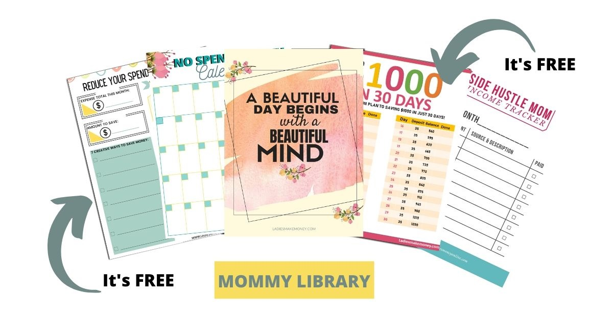 Grab a library full of mommy freebies