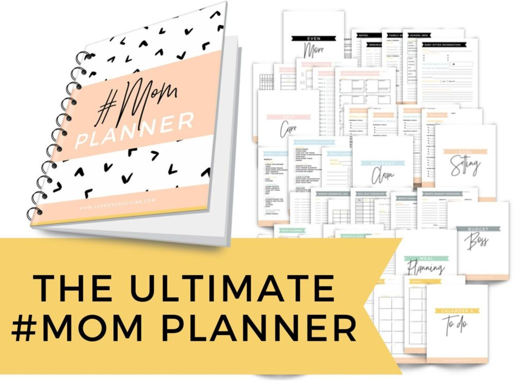 The Ultimate Mom Planner for Working Moms