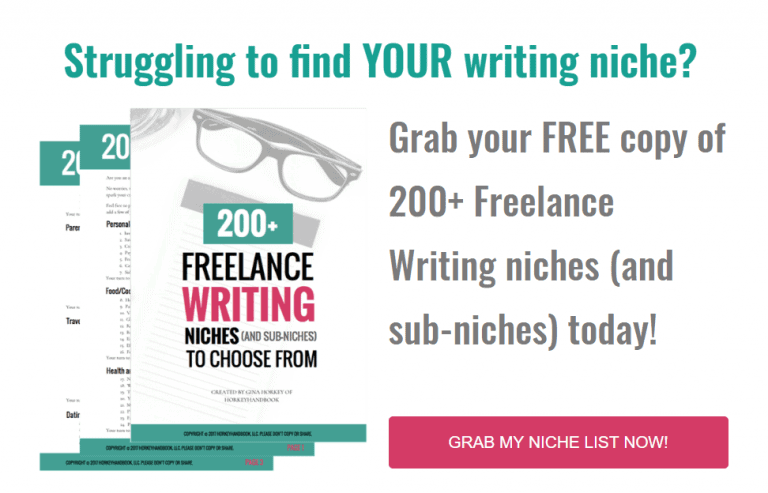 Freelancing niches to write about for extra money!