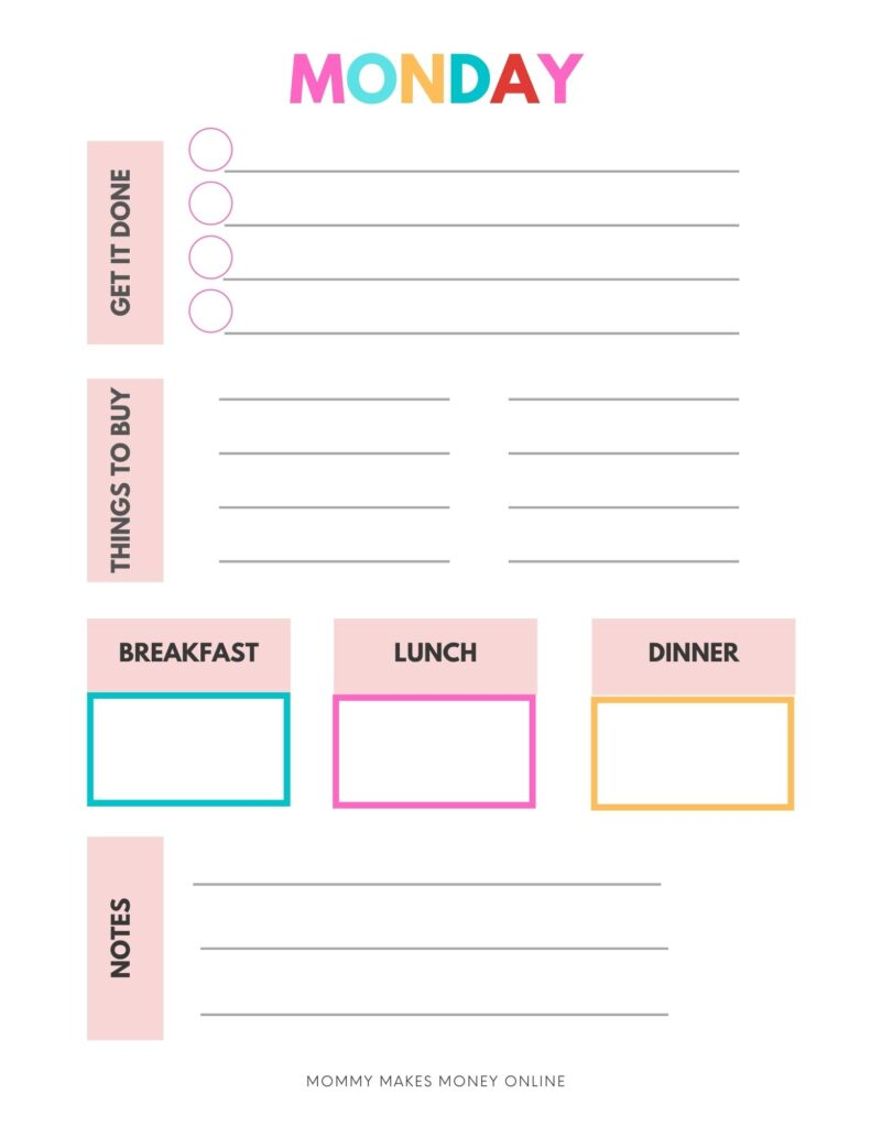 You can go ahead and grab this mom morning routine free printable! Morning routines for moms can be critical to getting more done. Here is a free morning routine to do list printable. #printables #freebie #freeprintable #morningroutine #familyroutine