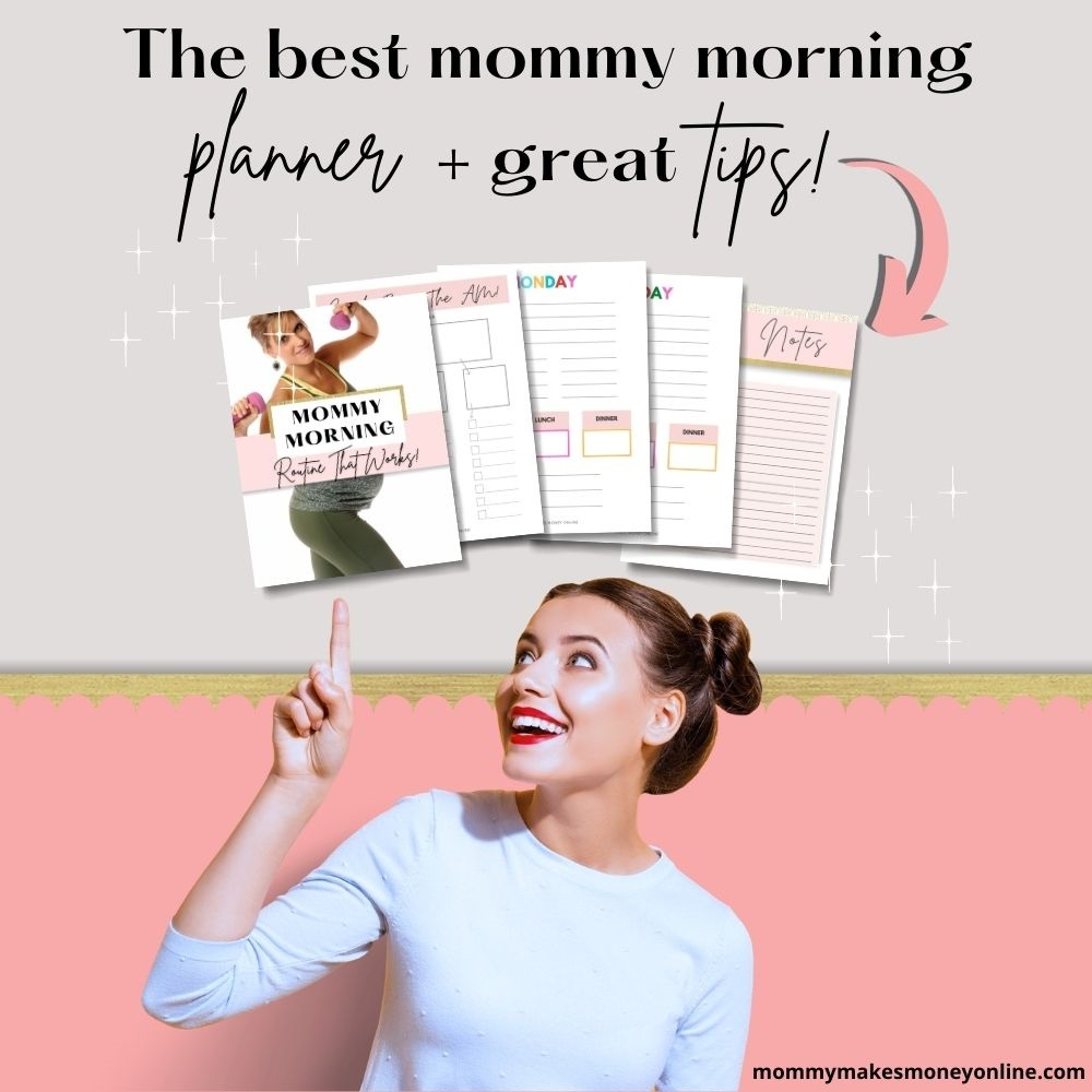 If you are looking for the best mommy morning routine planner, you might want to grab this one today! Having a daily routine mom schedule that works for you is essential to your mom morning routine. Grab out free planners today!