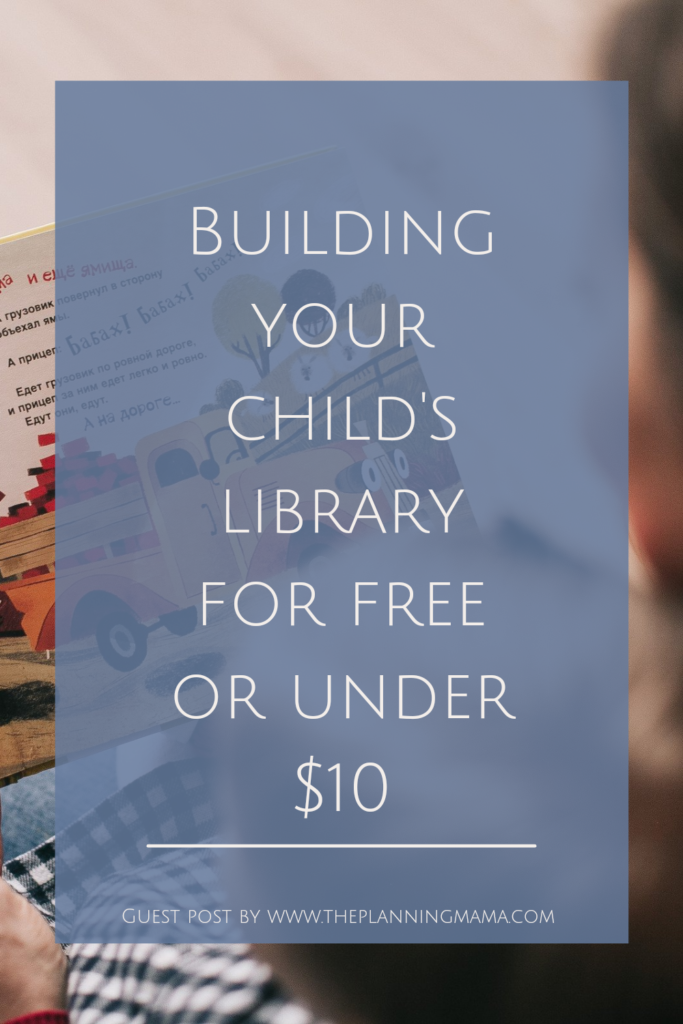 Creating a library in your home for your kids! Building your child's library! Where can I get free books for my child?
